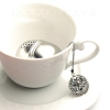 Iza Malczyk - Ornate tea ball infuser - Black