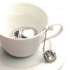 Iza Malczyk - Ornate tea ball infuser - Yellow