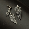 Iza Malczyk - Zen Garden - Leaf Earrings